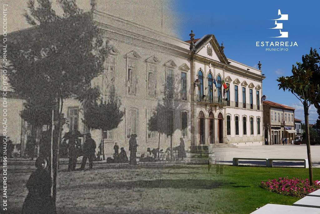 Resultado de imagem para Edifício dos Paços de Concelho de Estarreja.